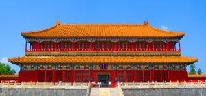 Императорский дворец в Китае